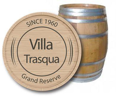 Barique Wijn van villa Trasqua