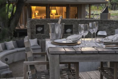 5 sterren luxe Lodge in Botswana